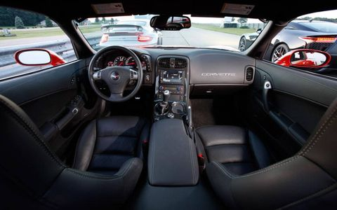 Not a bad place to spend time, the Corvette Z06 interior was still the part of the car that received the most criticism.