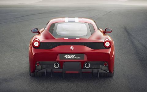 Flaps under the rear end open and close to optimize airflow.