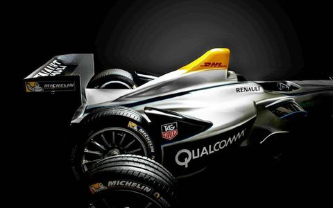The cars will race on 18-inch treaded tires supplied by Michelin.