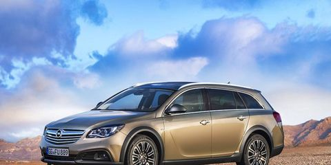 The Insignia Country Tourer pairs capable engines and all-wheel drive with the versatility of a wagon.