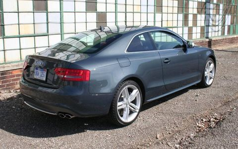 Driver's Log Gallery: 2010 Audi S5