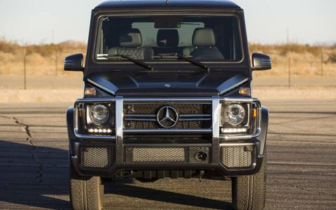 The 2013 Mercedes-Benz G63 AMG comes at a base price of $135,205 with our tester topping off at $144,305.