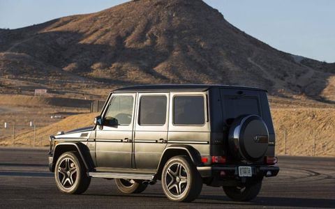 The 2013 Mercedes-Benz G63 AMG succeeds at being the most outrageous and ridiculous vehicle in every sense of the meaning.