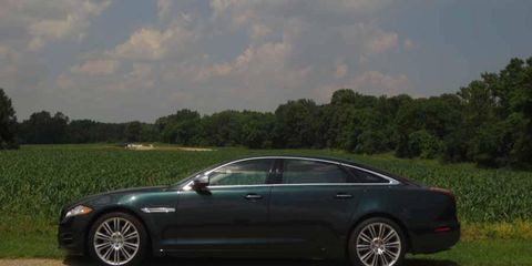 British Racing Green contrasts well with wholesome Wisconsin farmland.