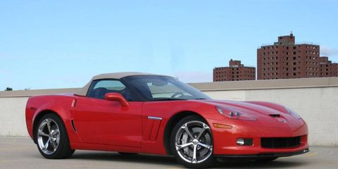 Driver's Log Gallery: 2010 Chevrolet Corvette Grand Sport Convertible