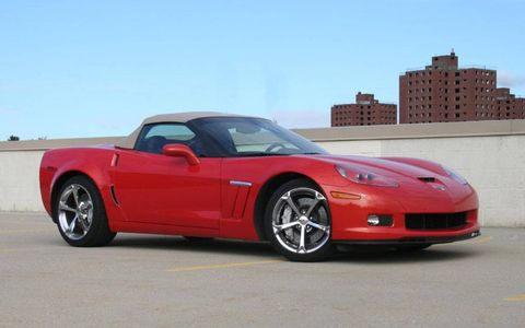 Driver's Log Gallery: 2010 Chevrolet Corvette Grand Sport Convertible
