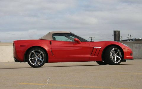 Driver's Log Gallery: 2011 Chevrolet Corvette Grand Sport Convertible