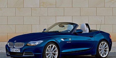 The BMW Z4 is available to rent in Europe through Hertz.