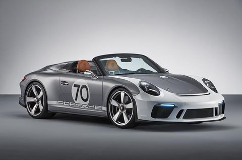Porsche unveiled a new 911 Speedster Concept on the 70th anniversary of the original 356.