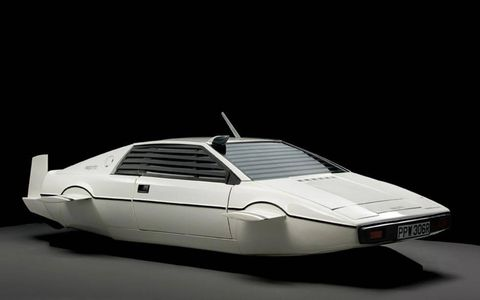 This Lotus Esprit from the James Bond series sold at an RM Auction in Battersea, London.