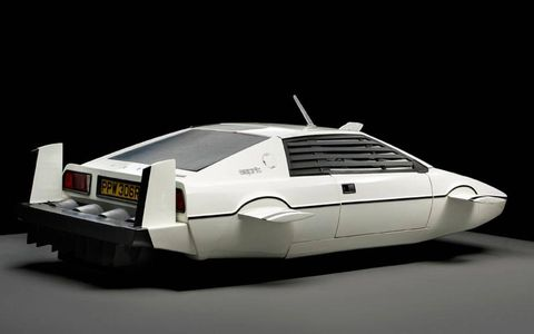 """This Lotus Esprit from """"The Spy Who Loved Me"""" crossed the block for $867,130."""