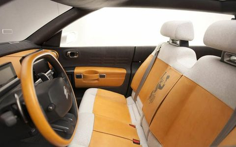 The interior is said to be close to the production version as well.