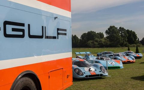 A selection of vintage races cars from the Rofgo Collection by Duncan Hamilton.