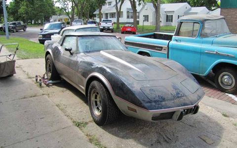 This Corvette is definitely one of the headlines of the sale.