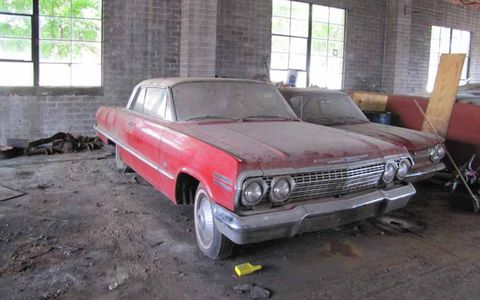 This 1963 Chevrolet Impala is already attracting quite a bit of attention from bidders.