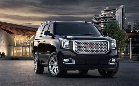 The new GMC Yukon full-size SUV.