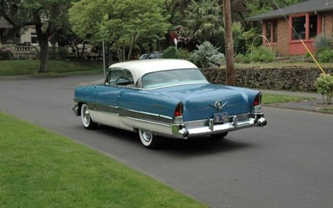The Packard's understated design means it will stand out in a field of exuberant cars from the Big Three.