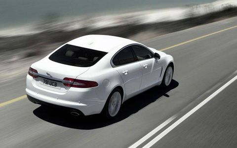 Fuel Economy in the 2013 Jaguar XF is an  EPA-estimated 19 city,30 highway and 23 mpg combined.