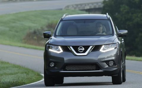 The 2014 Nissan Rogue is powered by a 2.5-liter, four-cylinder engine that produces 170 hp and 175 lb-ft of torque.