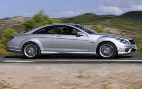 Set to star at this month's Paris motor show, where it will be unveiled alongside the similarly powered but yet to be revealed S63 AMG, the big rear wheel drive coupe is the latest in a long line of AMG models to receive Mercedes-Benz's new naturally aspirated 6.2-liter V8 engine, following on from the CLK63, E63, CLS63, ML63 and R63. Power swells 25 hp beyond that of its predecessor, the supercharged 5.4-liter V8 CL55 AMG, at a solid 525 hp. Torque, on the other hand, drops by 51 lb ft to 464 lb ft, but this doesn't seem to effect standing start performance in any way, according to Mercedes-Benz own acceleration claims.
