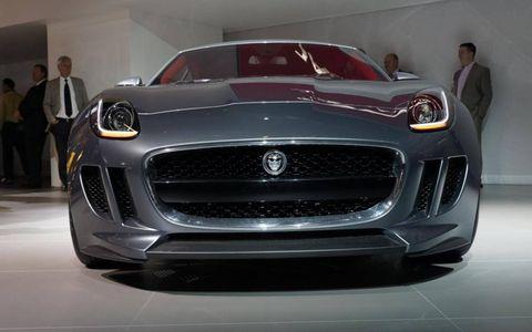 The Jaguar C-X16 debuted at the 2011 Frankfurt Motor Show