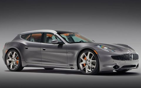 The Fisker Surf made its debut at the 2011 Frankfurt Motor Show