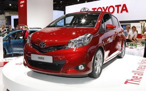The new Toyota Yaris had its official debut at the 2011 Frankfurt Motor Show