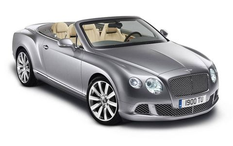 The latest Bentley Continental GTC
