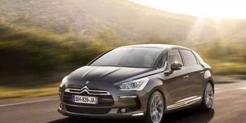The Citroen DS5 was revealed at the Frankfurt auto show