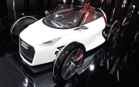 The 2011 Audi Urban concept revealed at the 64th Frankfurt Motor Show