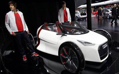 The 2011 Audi Urban concept revealed at Frankfurt