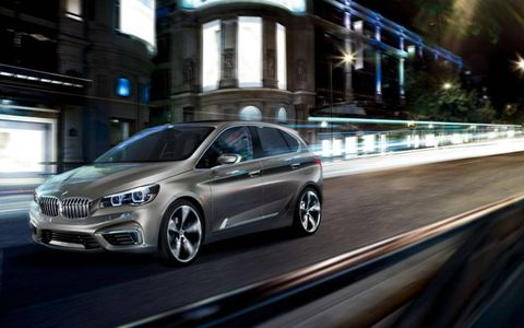 The The BMW Active Tourer has a 1.5-liter turbocharged engine that drives the front wheels, while a electric motor powers the rear wheels when necessary.
