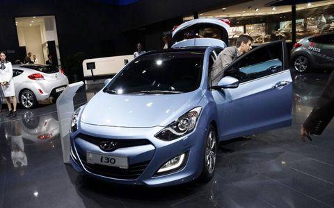 The Hyundai i30 at the Frankfurt auto show