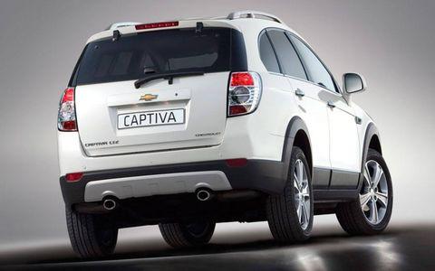 Paris Motor Show: Chevrolet Captiva