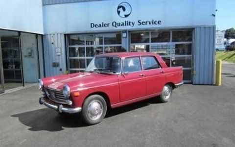 This 1969 Peugeot 404 sedan could be your affordable entry into the world of classic car ownership.