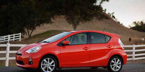 Autoweek editors took the 2012 Toyota Prius c out for review notes.