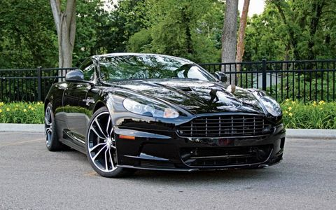 The Aston Martin DBS Carbon Edition.