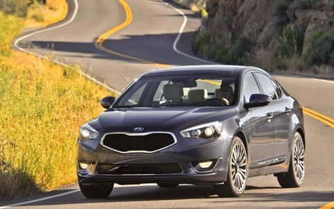 The 2014 Kia Cadenza comes at a base price of $35,900 with our tester coming in at $41,900.