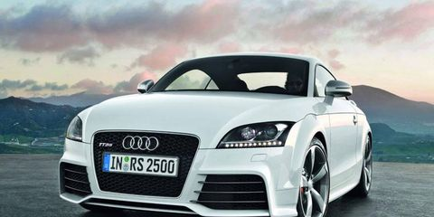 Audi has announced the TT RS will come to the United States. Look for it in showrooms about a year from now.