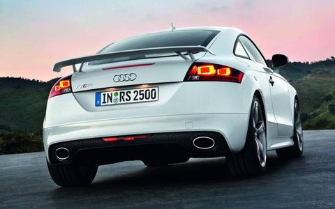 The engine was developed exclusively for the RS coupe. It will be mated to a six-speed manual.