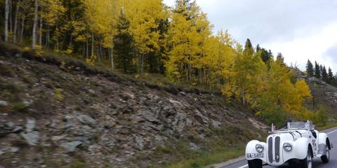 Good company and dramatic scenery are two of the reasons the Colorado Grand remains an enthusiast favorite. The cars help, too.