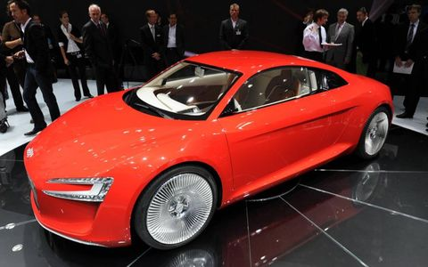 Tire, Wheel, Automotive design, Vehicle, Land vehicle, Event, Car, Auto show, Personal luxury car, Alloy wheel,