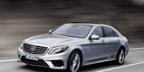 The new S63 AMG arrives in November.