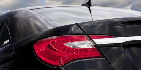 Automotive tail & brake light, Automotive design, Automotive lighting, Car, Luxury vehicle, Light, Personal luxury car, Bumper, Trunk, Sedan,