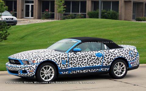 2010 Mustang convertible