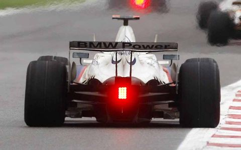 Nick Heidfeld, BMW Sauber F1.08, 5th position.