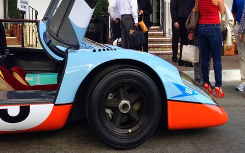 917 noses into the Concours.