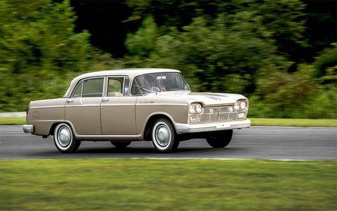 This 1964 Nissa Cedric was originally sold new in the U.S.