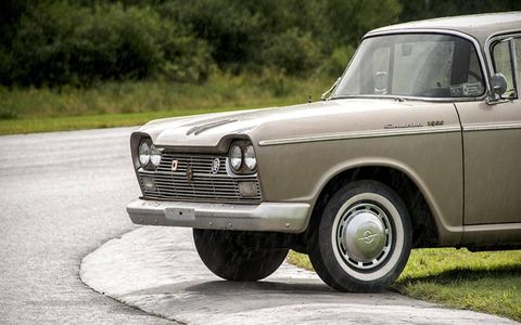 The Pininfarina styling evokes American cars from the 1960s, for the most part.