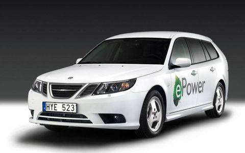 Paris Motor Show: Saab 9-3 ePower